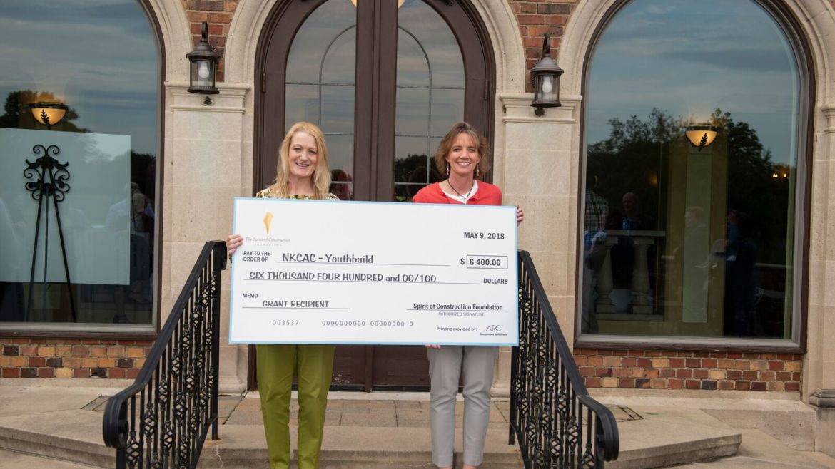YouthBuild Awarded Spirit of Construction Grant