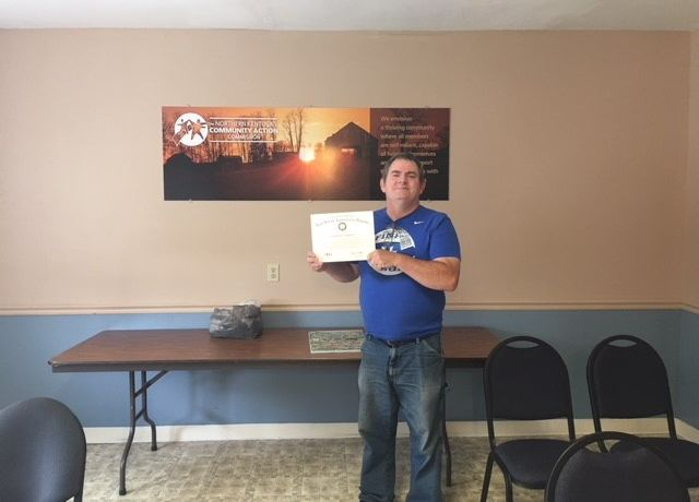 Scholarship Enables Timothy Maloney to earn his GED