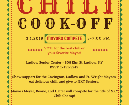 Chili Cookoff — Mayors Compete!